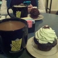 Photo taken at Jarets Stuffed Cupcakes by Sarah P. on 12/4/2011