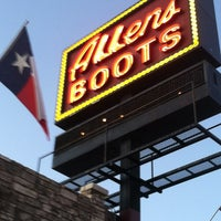 Photo taken at Allens Boots by Jason L. on 1/11/2012