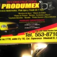 Photo taken at Reconstuctora produmex by Daniela R. on 6/30/2012