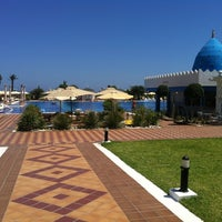 Photo taken at Marco Polo RIU Hotel Hammamet by Константин Б. on 7/20/2012
