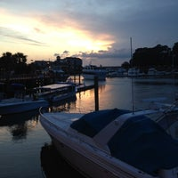 Photo taken at Shelter Cove Harbour by Mike C. on 7/11/2012