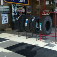 Photo taken at Ray's Tire by Brooke R. on 1/31/2012