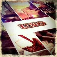 Photo taken at Uno Pizzeria & Grill - Boston by Emily G. on 2/9/2011