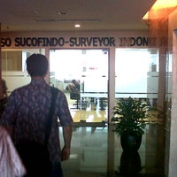 Photo taken at KSO SUCOFINDO - SURVEYOR INDONESIA ( Bidakara 2 Lt. 5 ) by Durex K. on 11/25/2011