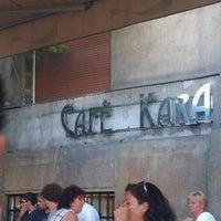 Photo taken at Café Kara by Aurélie M. on 8/2/2012