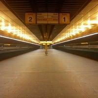 Photo taken at Metro =B= Radlická by Lukas K. on 2/12/2012