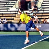 Photo taken at Court 7 - USTA Billie Jean King National Tennis Center by Lisa P. on 8/31/2012