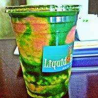 Photo taken at Liquid Energy Juice Bar and Cafe by Joe D. on 7/6/2012