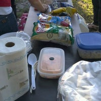 Photo taken at Spall Leonard Reynolds Etc Tailgate by Tiffany R. on 10/3/2011