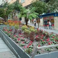 Photo taken at Praza Roxa by Susana P. on 1/13/2012