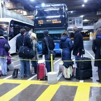 Photo taken at Megabus Stop - Washington, DC by Ali E. on 1/13/2012