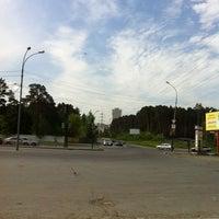 Photo taken at Остановка «Контрольная» by Ilya M. on 5/29/2012