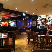 Photo taken at T.G.I. Friday's by Brian G. on 10/5/2011