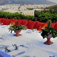 Photo taken at GB Roof Garden Restaurant by Neslechanidis S. on 10/24/2011