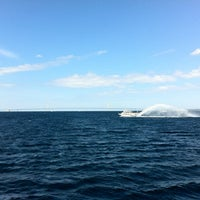 Photo taken at Straits of Mackinac by Ed M. on 8/7/2012