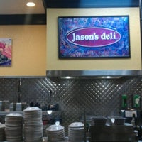 Photo taken at Jason's Deli by Jordan R. on 10/27/2011