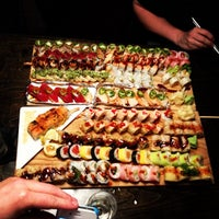 Photo taken at Blue Sushi Sake Grill by Mike T. on 5/12/2012
