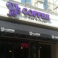 Photo taken at PJ's Coffee by Patrick N. on 8/12/2012