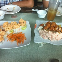 Photo taken at Sushi House by Maricela V. on 7/6/2012