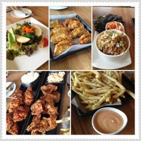 Photo taken at BonChon Chicken by Air I. on 4/9/2012