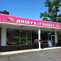 Photo taken at Jersey Boy Bagels by Brian on 6/16/2012