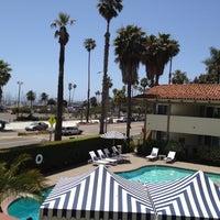 Photo taken at Hotel Milo Santa Barbara by Paul C. on 5/15/2012
