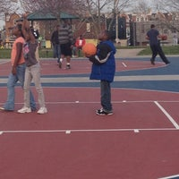 Photo taken at Chalmers Playground by Shante W. on 3/16/2012