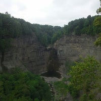 Photo taken at Taughannock Falls State Park by Ilya S. on 9/3/2012