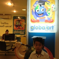 Photo taken at Global Art Central Pinklao by Phichai T. on 4/27/2012