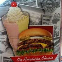 Photo taken at Steak 'n Shake by Michelle M. on 4/4/2012