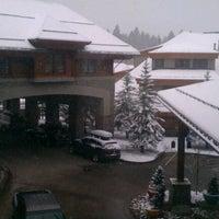 Photo taken at Grand Residences by Marriott, Lake Tahoe by Jon B. on 4/13/2012