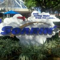 Photo taken at Soarin' by Steve A. on 2/29/2012