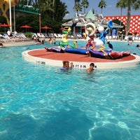 Photo taken at Disney's All-Star Music Resort by Allison R. on 9/1/2012