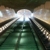 Photo taken at Civic Center Metro Station by Samwise A. on 7/28/2012