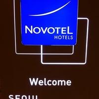 Photo taken at Novotel Ambassador Gangnam, Seoul by Joseph Quek T. on 5/6/2012