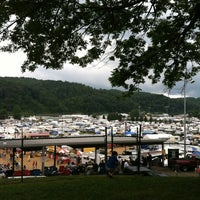 Photo taken at Galax Old Time Fiddlers Convention by David S. on 8/11/2012
