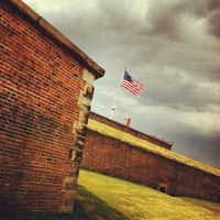 Photo taken at Fort McHenry National Monument and Historic Shrine by Francis L. on 6/30/2012