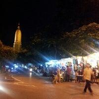 Photo taken at Saphanput Night Market by Nu A. on 9/7/2012