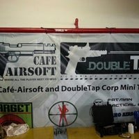 Photo taken at Cafe-Airsoft by edwin h. on 8/12/2012