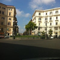 Photo taken at Piazza Luigi Vanvitelli by Valerio B. on 3/30/2012