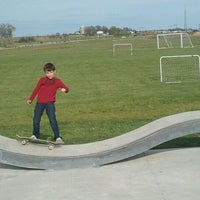 Photo taken at Mount Horeb Skate Park by Kathy P. on 4/21/2012