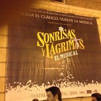 Снимок сделан в Teatre Principal пользователем Juan E. 2/25/2012