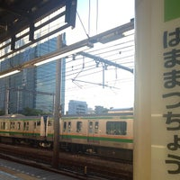 Photo taken at Hamamatsuchō Station by bluetree_164 on 8/26/2012