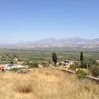 Photo taken at Βασιλικά Ανώγεια by Alexandros K. on 6/21/2012
