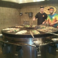 Photo taken at bd's Mongolian Grill by sara g. on 8/13/2011