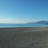 Photo taken at Passeggiata Bordighera-Vallecrosia by Fabius ♌ T. on 1/9/2012