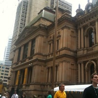 Photo taken at Sydney Town Hall by Lauren P. on 9/5/2011