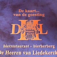 Photo prise au De Heeren van Liedekercke par John S. le10/15/2011