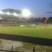 Photo taken at Estádio Germano Krüger by Alysson A. on 2/8/2012