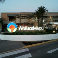 Photo taken at Mall Arauco Maipú by Rocio P. on 8/4/2012